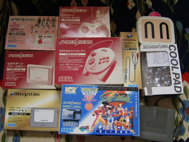 The complete Sega Saturn fullset, 1150 titles!